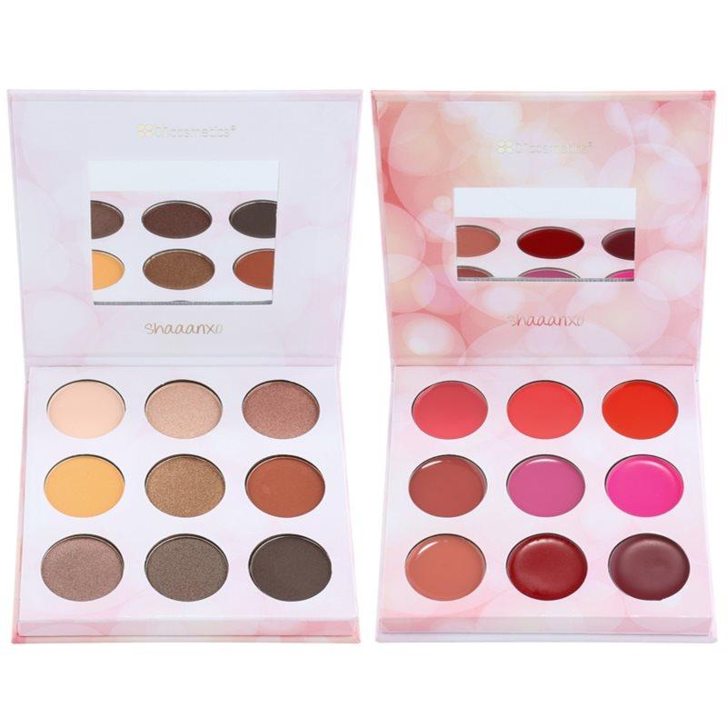 BH Cosmetics Shaaanxo paleta de sombras de ojos y barras de labios 24 g