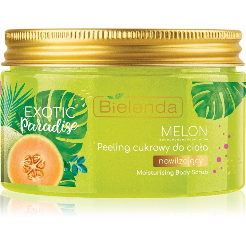 Bielenda Exotic Paradise Melon хидратиращ захарен пилинг 350 гр.