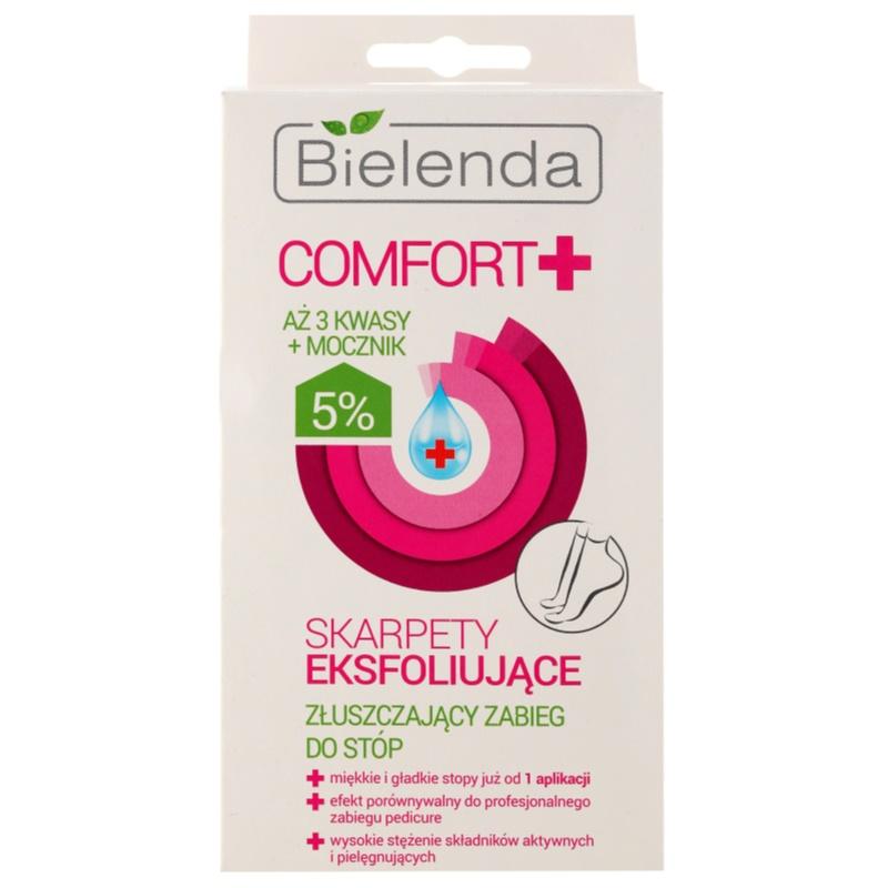 Bielenda Comfort+ sosete exfoliante pentru hidratarea picioarelor 2 x 20 ml thumbnail