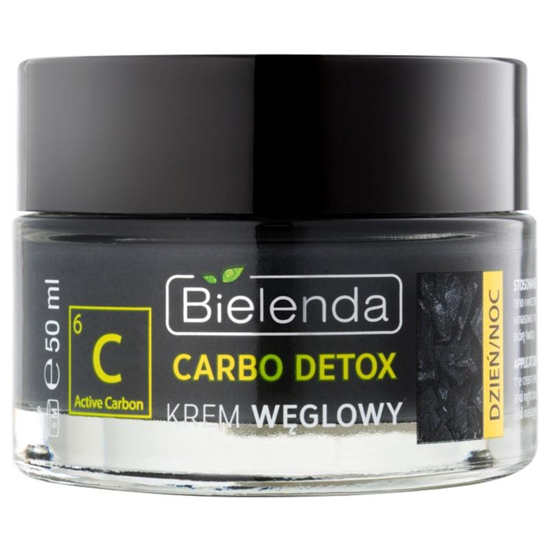 Bielenda Carbo Detox Active Carbon cremă hidratată și matifiantă cu cărbune 50 ml thumbnail