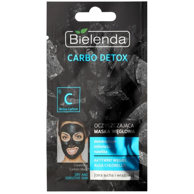 Bielenda Carbo Detox Active Carbon Masca de curățare cu cărbune pentru piele uscata spre sensibila 8 g thumbnail