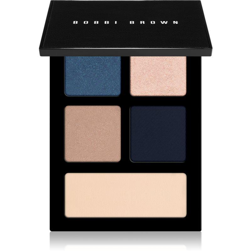 Bobbi Brown The Essential Multicolor Eyeshadow Palette szemhéjfesték paletta árnyalat Navy Twilight 4,25 g