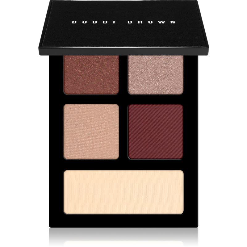 Bobbi Brown The Essential Multicolor Eyeshadow Palette szemhéjfesték paletta árnyalat Bold Burgundy 4,25 g