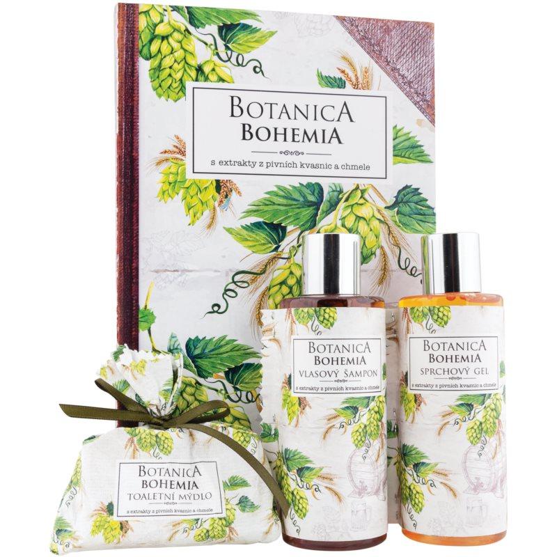Bohemia Gifts & Cosmetics Botanica dárková sada IV. (pro ženy) 3 ks
