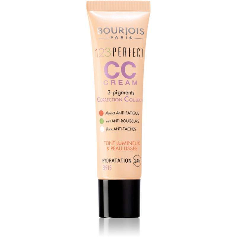 Bourjois 123 Perfect crema CC pentru un aspect impecabil instantaneu culoare Beige Clair 32 SPF 15 30 ml thumbnail