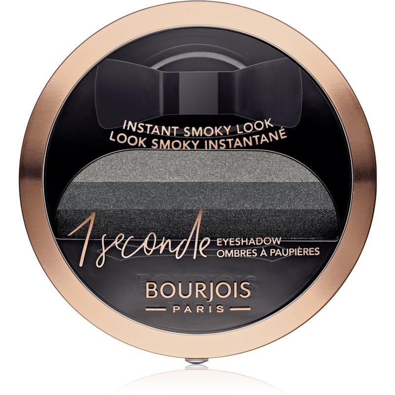 Bourjois 1 Seconde farduri de ochi pentru un machiaj fumuriu culoare 01 Black on Track 3 g thumbnail