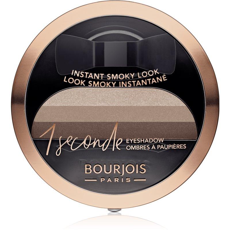 Bourjois 1 Seconde farduri de ochi pentru un machiaj fumuriu culoare 06 Abracada'brown 3 g thumbnail