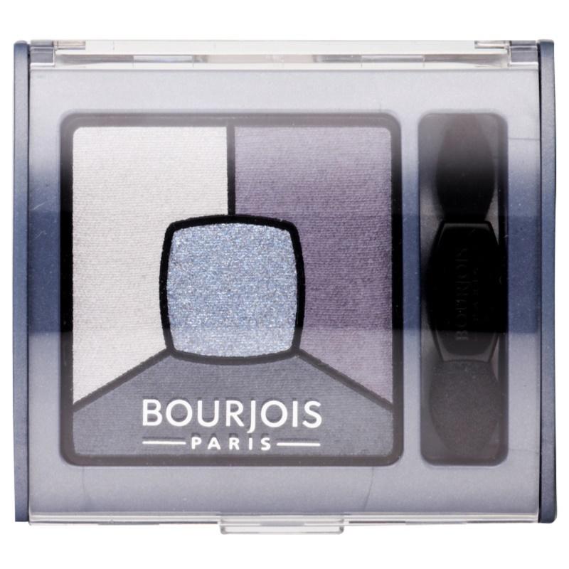 Bourjois Smoky Stories paleta dymových očných tieňov odtieň 08 Ocean Obsession 3,2 g