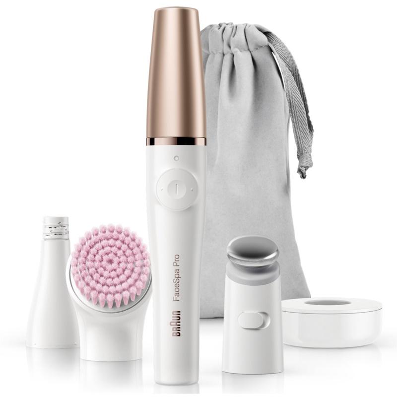Braun FaceSpa Pro 912 система 3 в 1 за епилация на лицето, почистване и тонизиране на кожата