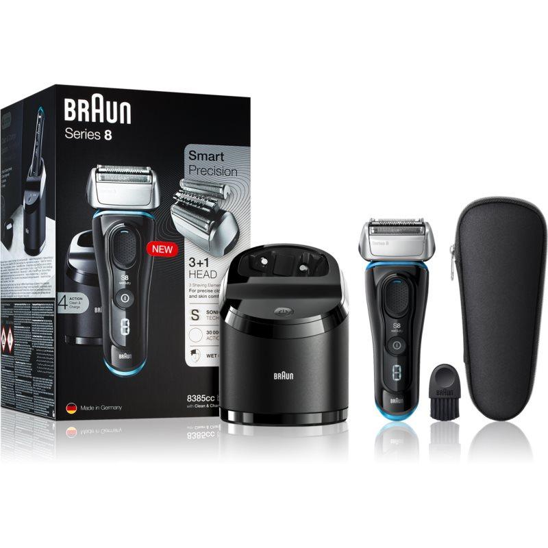 Braun Series 8 8385cc Black with Clean&Charge System aparat de ras cu planificare 8385cc black thumbnail