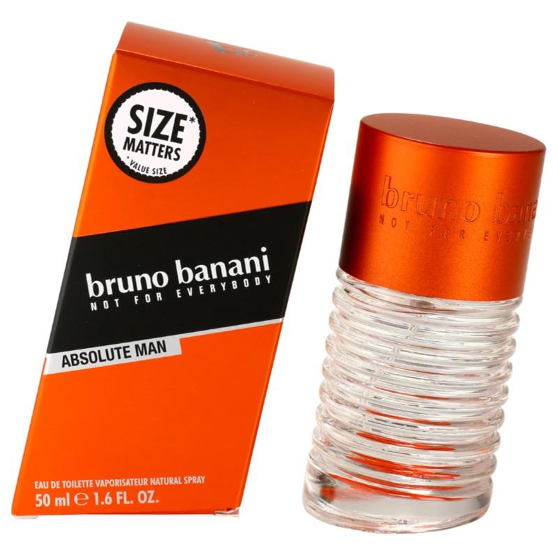 Bruno Banani Absolute Man eau de toilette para hombre 50 ml