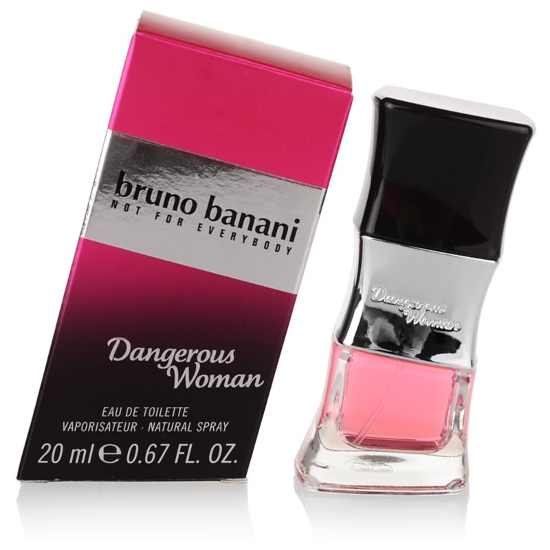 Bruno Banani Dangerous Woman eau de toilette para mujer 20 ml