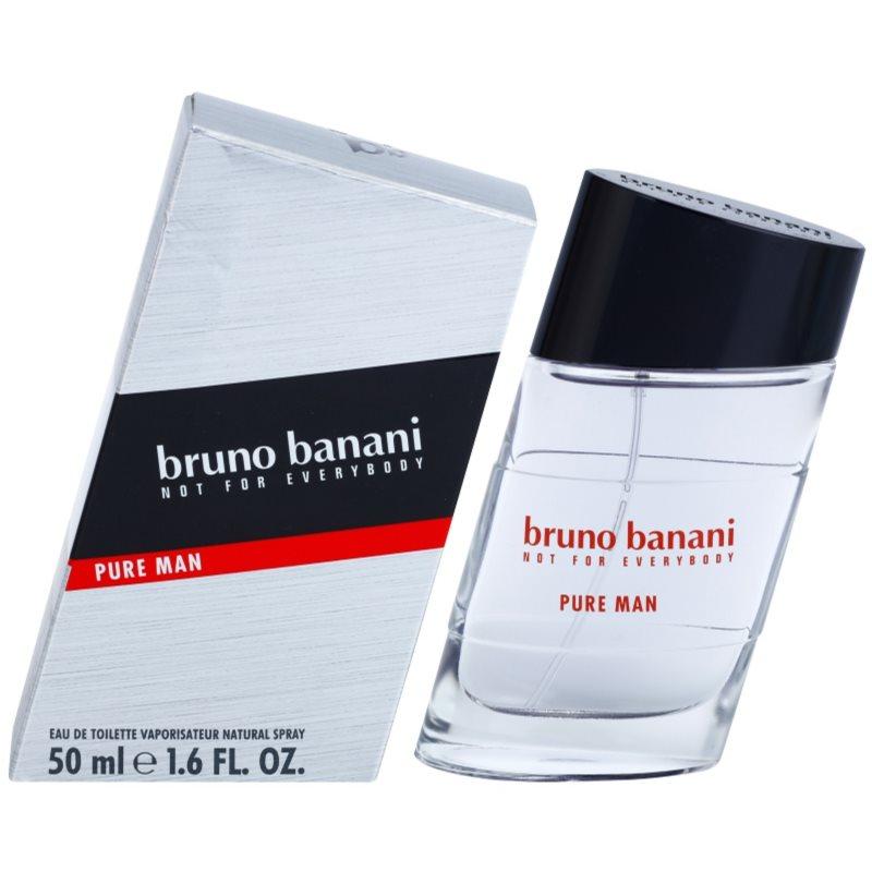 Bruno Banani Pure Man eau de toilette para hombre 50 ml