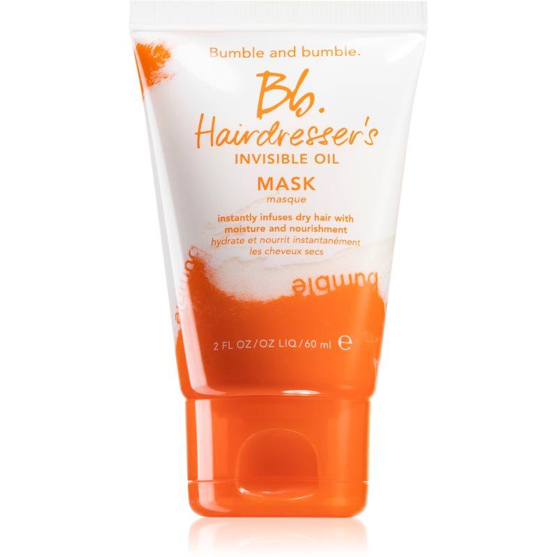 Bumble and Bumble Hairdresser's Invisible Oil Mask hydratační a vyživující maska pro suché a křehké vlasy