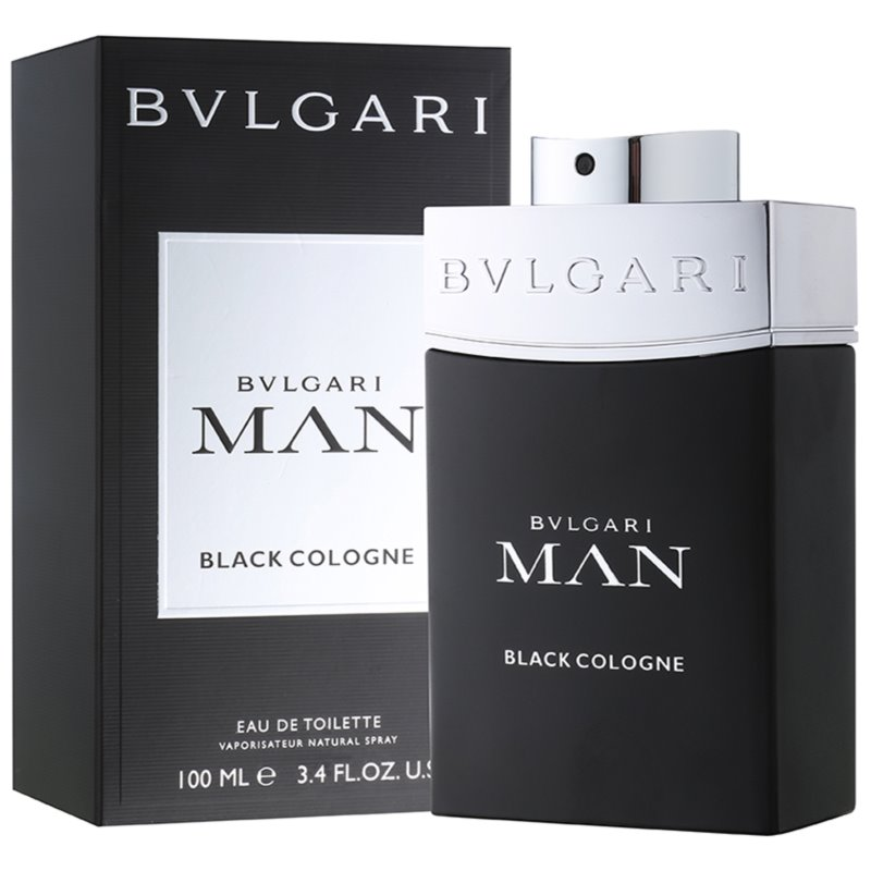 Bvlgari Man Black Cologne eau de toilette para hombre 100 ml