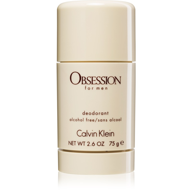 Calvin Klein Obsession for Men stift dezodor alkoholmentes uraknak 75 ml