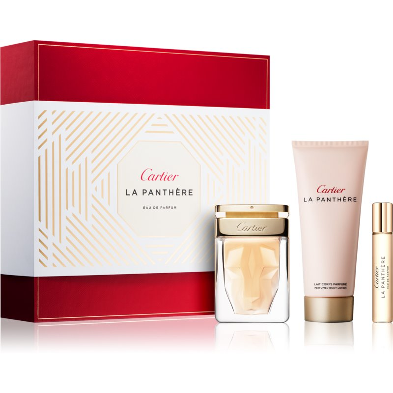 Cartier La Panthère подаръчен комплект VIII.