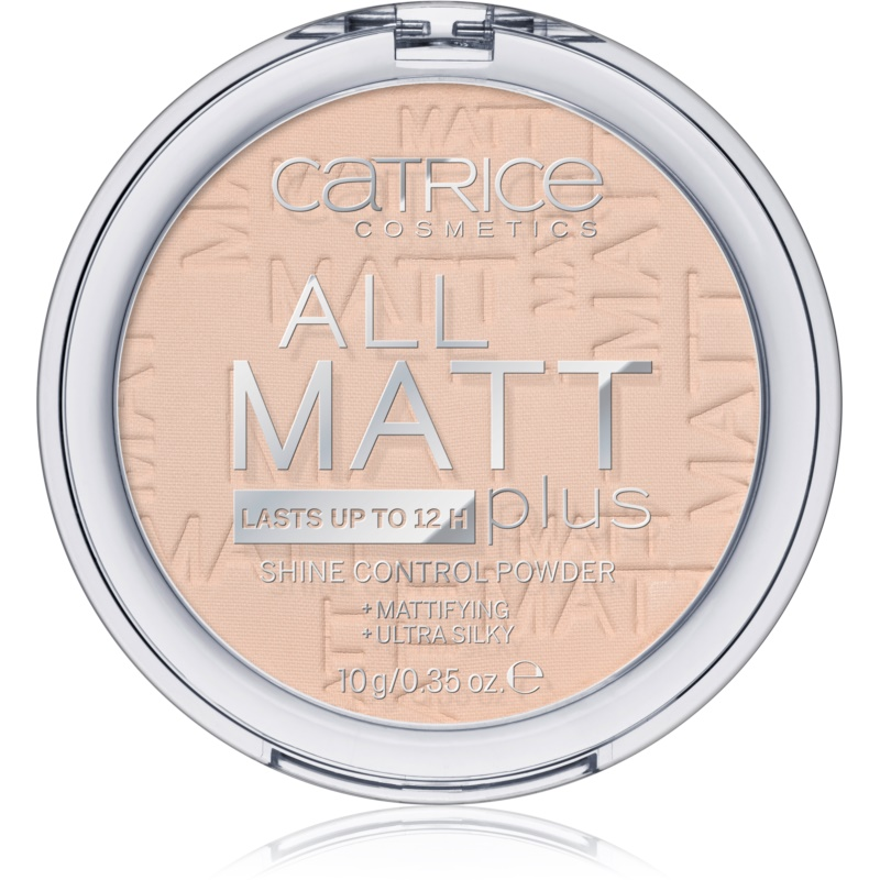 Catrice All Matt Plus pudra matuire culoare 010 Transparent 10 g thumbnail