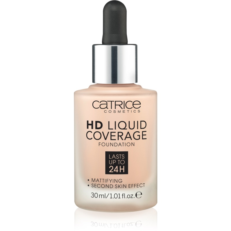 Catrice HD Liquid Coverage make up culoare 010 Light Beige thumbnail