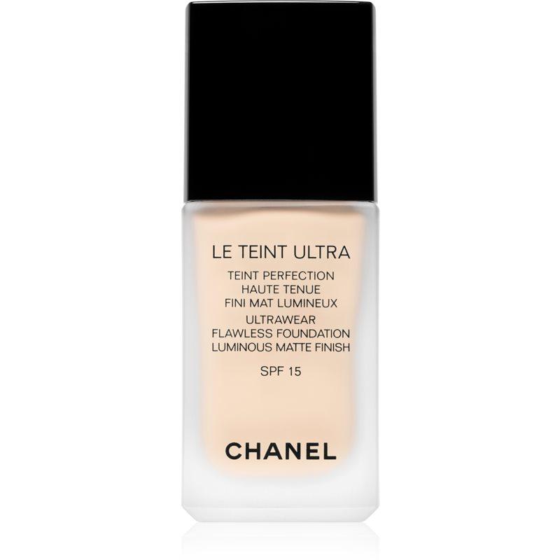 Chanel Le Teint Ultra langanhaltendes mattierendes Make up SPF 15