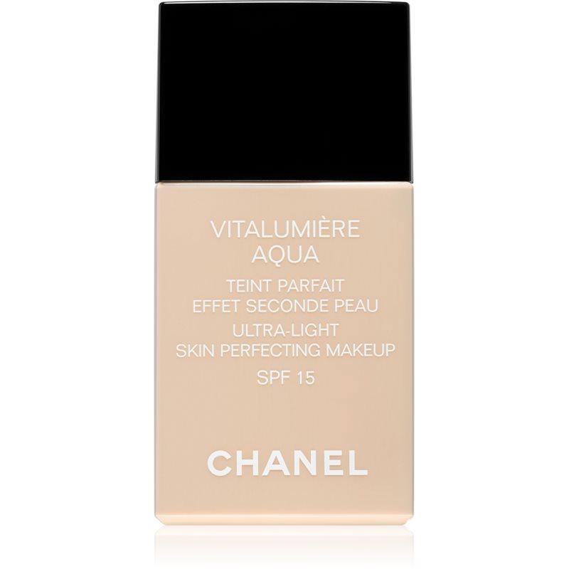 Chanel Vitalumi�re Aqua ultraleichtes Make-up f�r ein strahlendes Aussehen der Haut