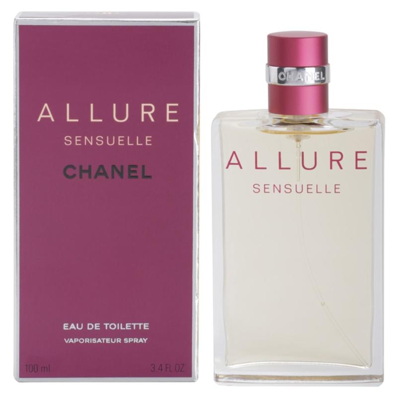 Chanel Allure Sensuelle eau de toilette hölgyeknek 100 ml