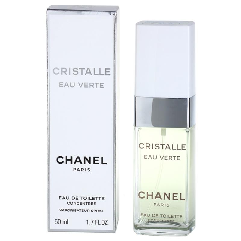 Chanel Cristalle Eau Verte Concentrée eau de toilette para mujer 50 ml