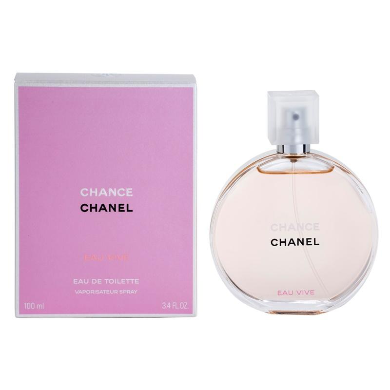 Chanel Chance Eau Vive eau de toilette para mujer 100 ml