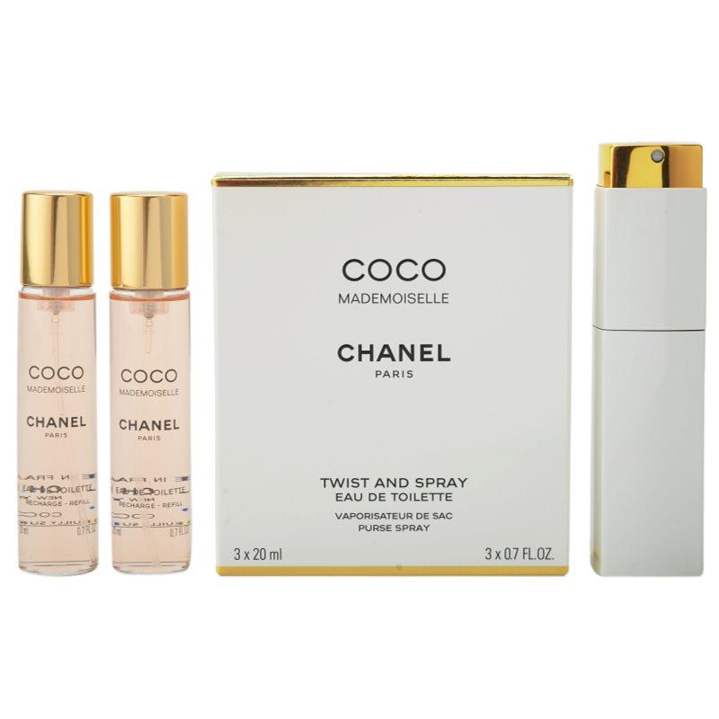 Chanel Coco Mademoiselle eau de toilette (1x reincarcabil + 2x rezerva) pentru femei 3x20 ml thumbnail