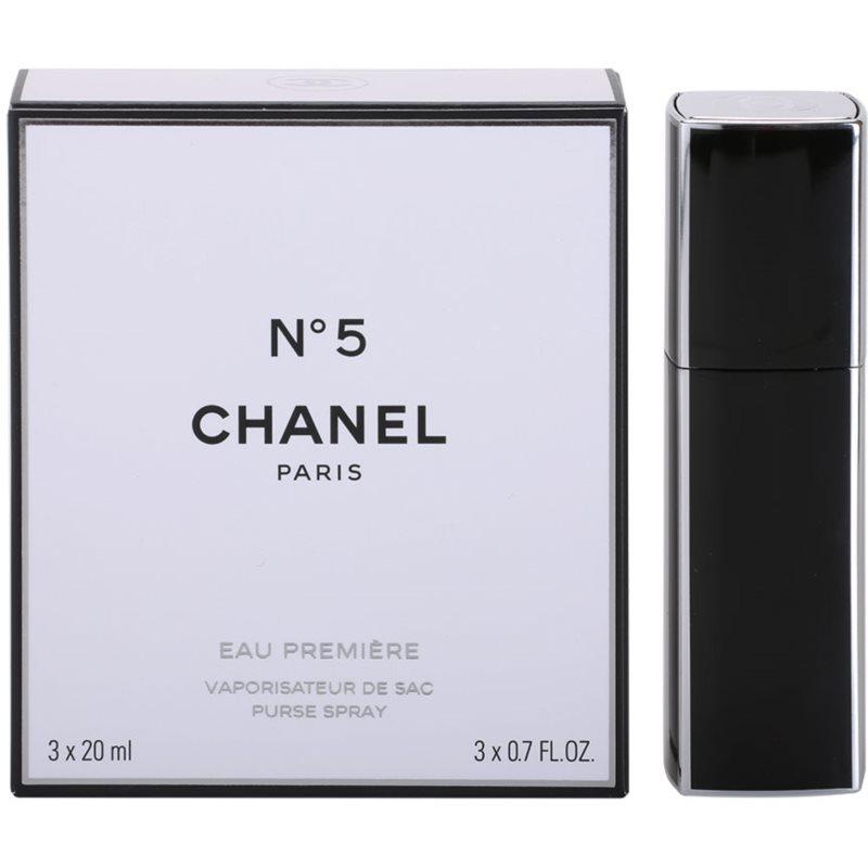 Chanel N°5 Eau Première eau de parfum para mujer 3 x 20 ml (1x recarga