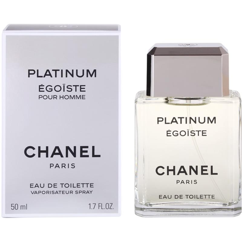 Chanel Égoïste Platinum eau de toilette para hombre 50 ml