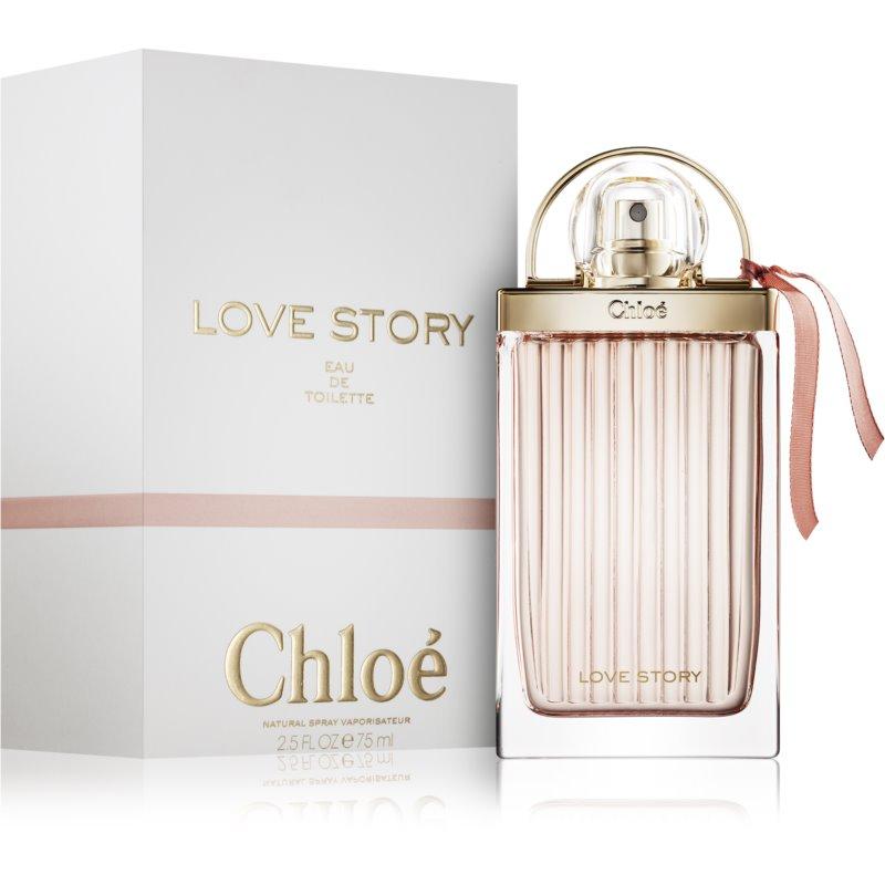 Chloé Love Story Eau de Toilette eau de toilette para mujer 75 ml
