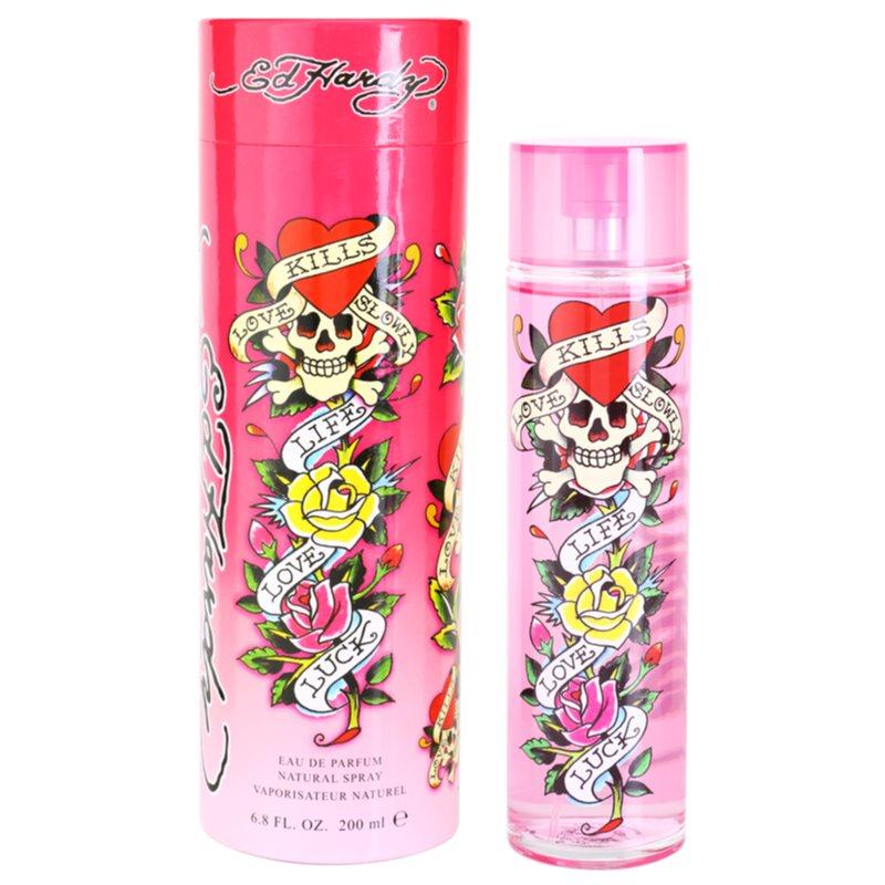 Christian Audigier Ed Hardy For Women eau de parfum para mujer 200 ml