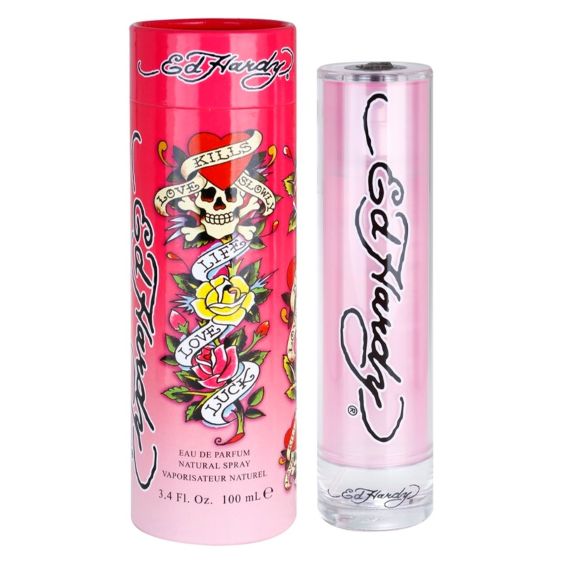 Christian Audigier Ed Hardy For Women eau de parfum para mujer 100 ml