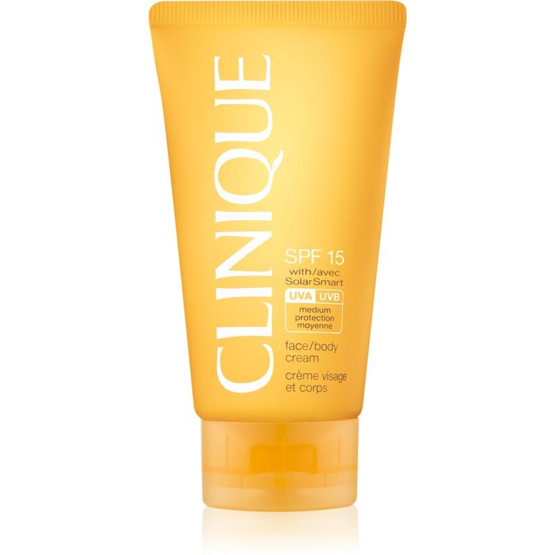 Clinique Sun napozókrém SPF 15