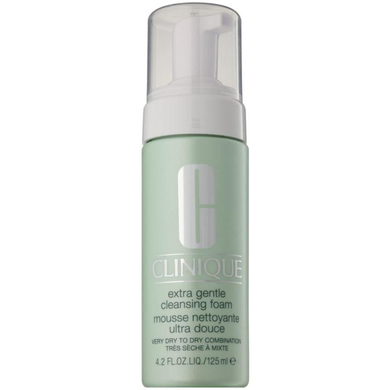 Clinique Extra Gentle Cleansing Foam finoman tisztító hab száraz és nagyon száraz bőrre