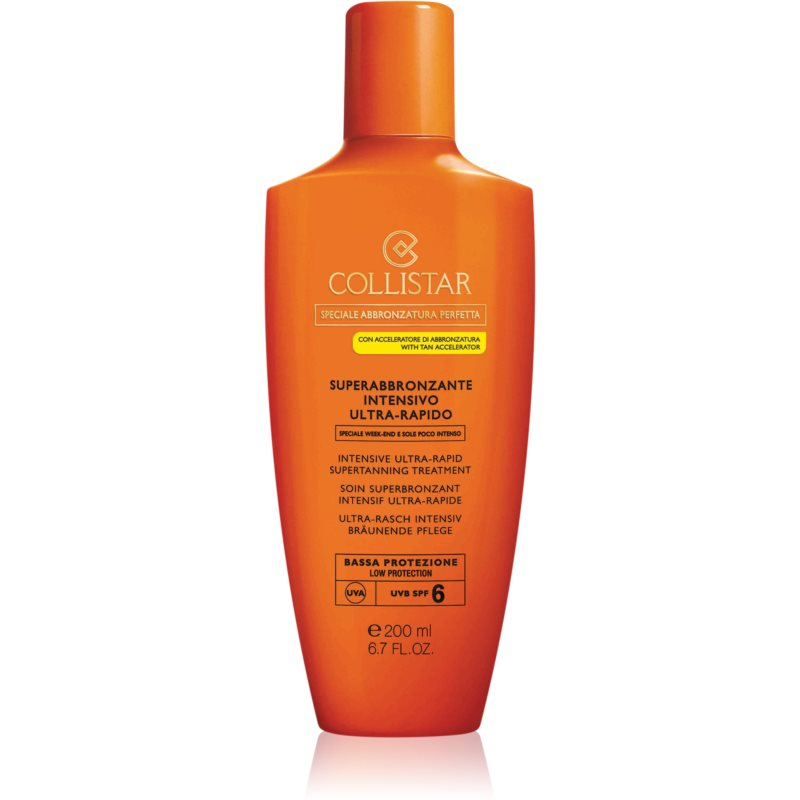 Collistar Special Perfect Tan Intensive Ultra-rapid Supertanning Treatment creme solar SPF 6 200 ml