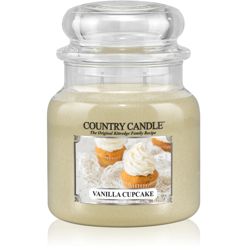 Country Candle Vanilla Cupcake scented candle 453 g thumbnail