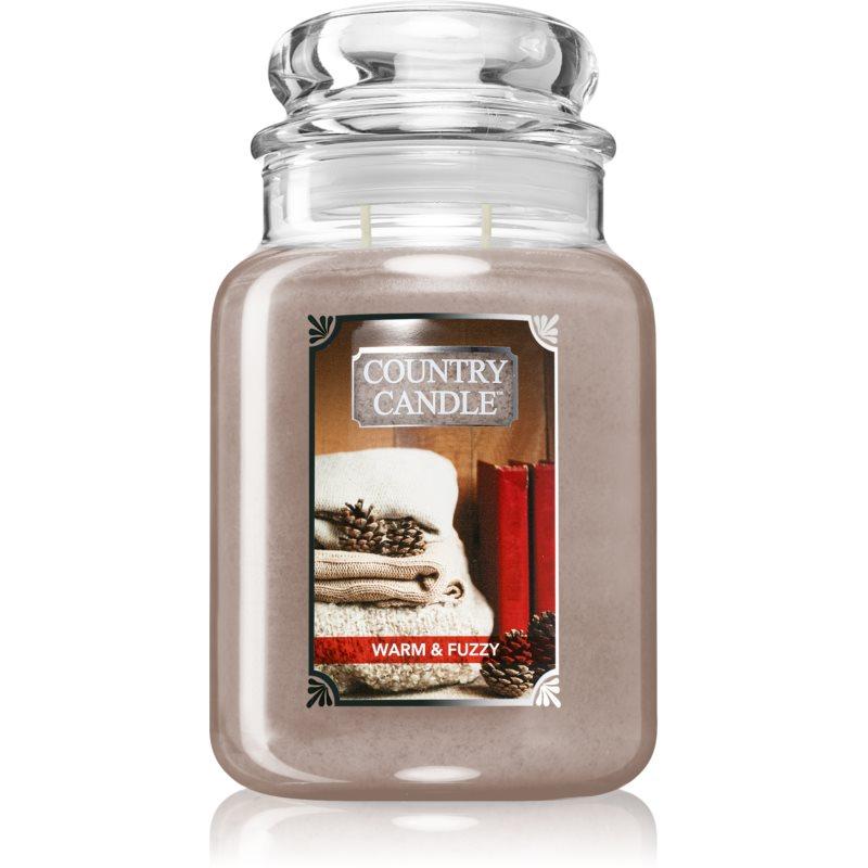 Country Candle Warm & Fuzzy lumânare parfumată 680 g thumbnail