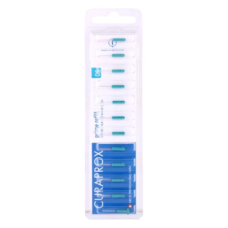 Curaprox Prime Refill CPS escovas interdentais comem blister CPS 06 0,6 - 2,2 mm 12 un.