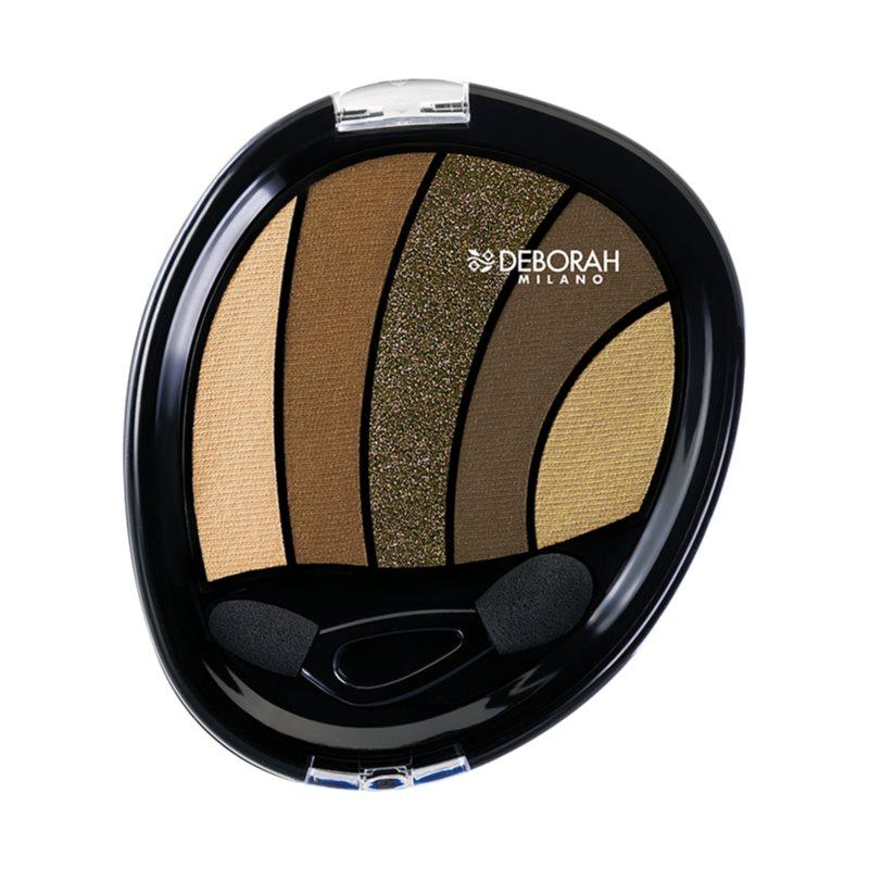 Deborah Milano Perfect Smokey Eye Eyeshadow with Applicator Shade 05 Kaki 5 g