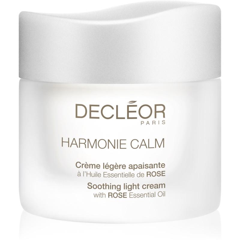 Decléor Harmonie Calm Organic Soothing comfort cream & mask 2 in 1 Könnyű, enyhítő krém az érzékeny arcbőrre 50 ml