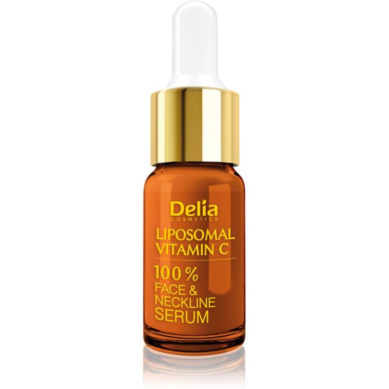 Delia Cosmetics Professional Face Care Vitamin C озаряващ серум с витамин С за лице, врат и деколкте 10 мл.
