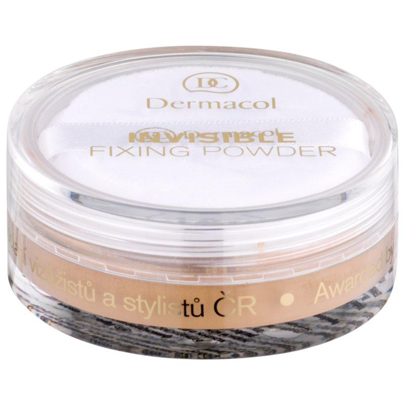 Dermacol Invisible прозрачна пудра цвят Natural 13 гр.