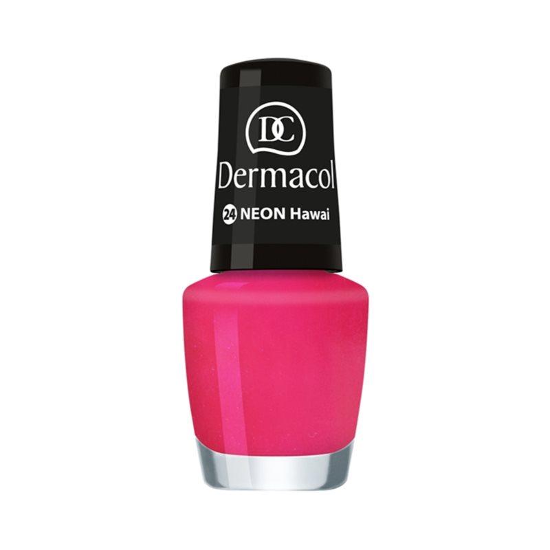 Dermacol Neon неоновий лак для нігтів відтінок 24 Hawai