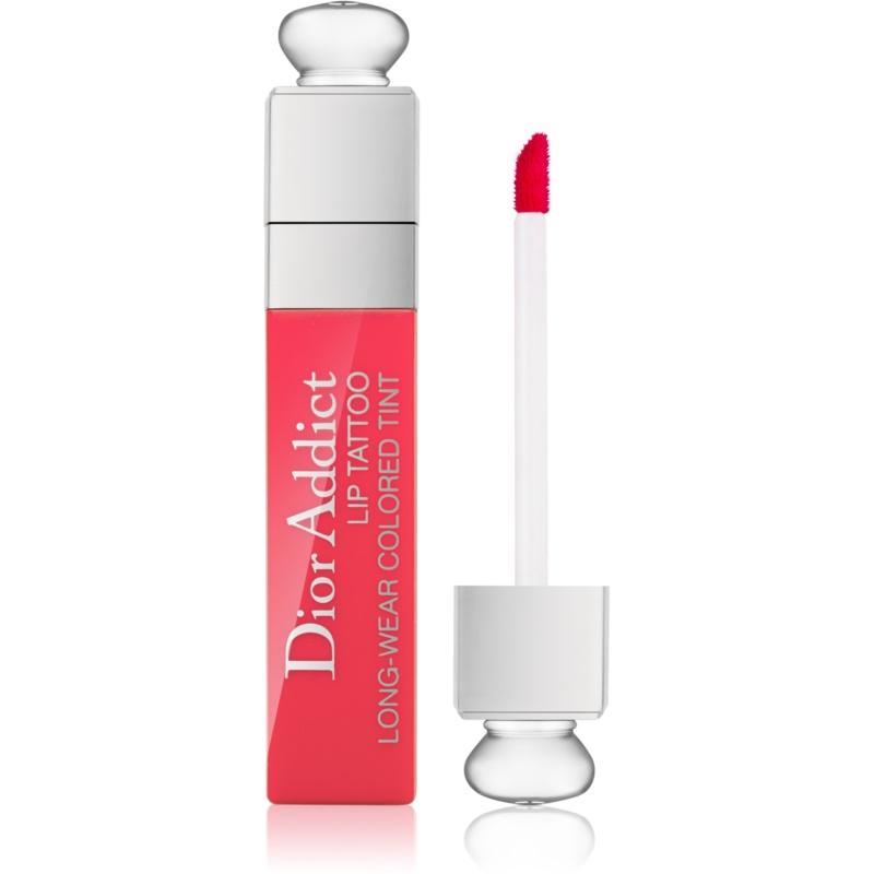 Dior Dior Addict Lip Tattoo barra de labios líquida tono 451 Natural Coral 6 ml