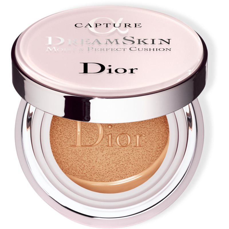 Dior Dreamskin Moist  Perfect Cushion hydratačný make-up v hubke SPF 50 odtieň 020 2x15 g