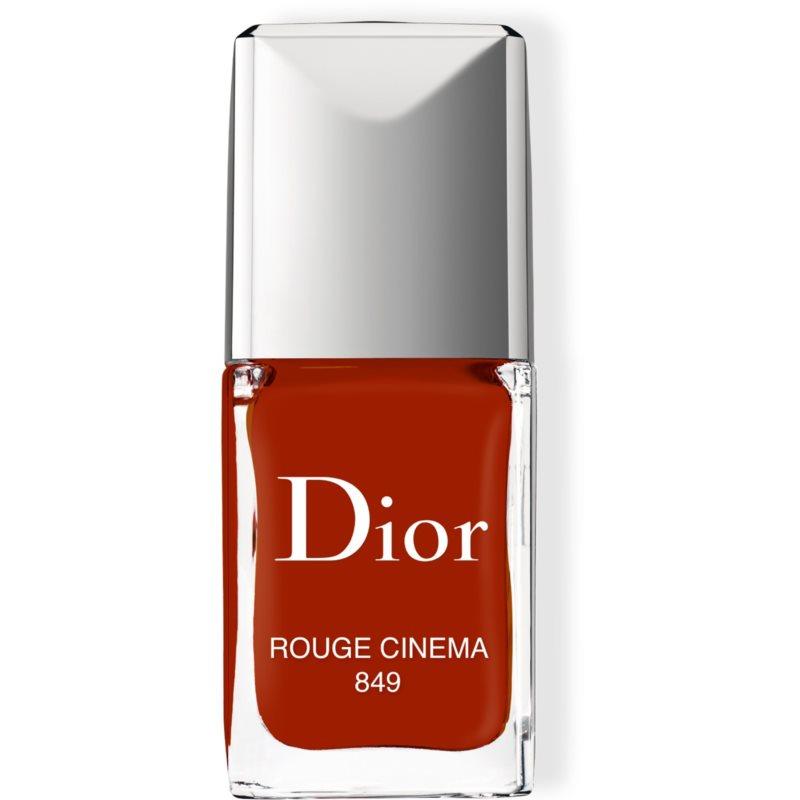 Dior Vernis lak na nechty odtieň 849 Rouge Cinema 10 ml