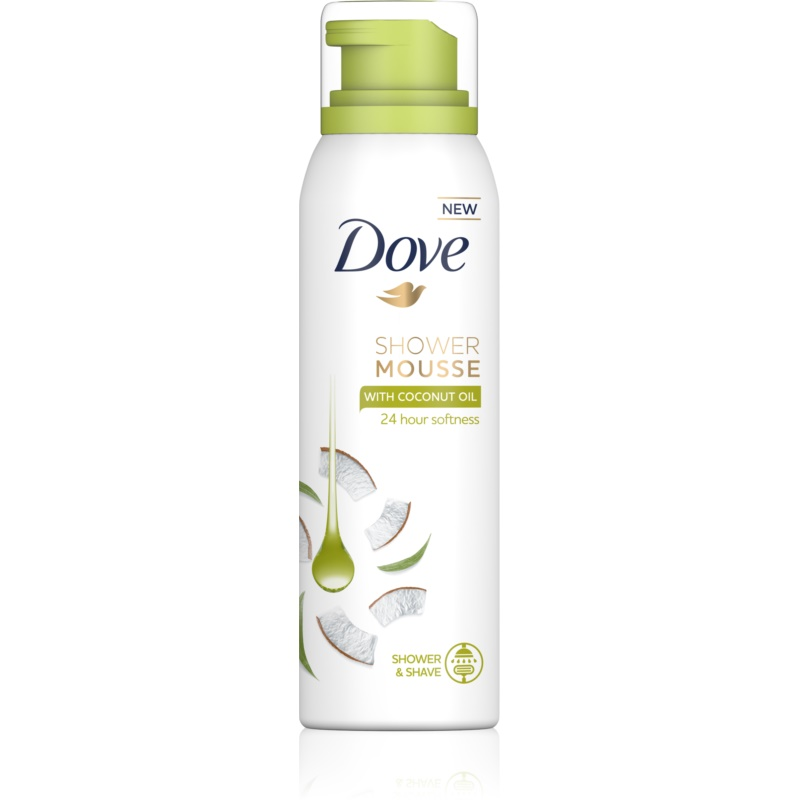 Dove Coconut Oil Duschschaum 3 in1 200 ml