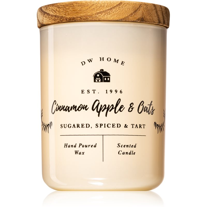 DW Home Cinnamon Apple & Oats vonná sviečka 107,73 g